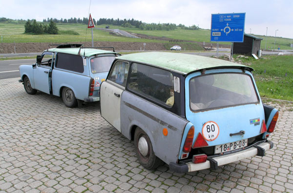 Trabant_601 with self made trailer