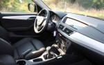 BMW X1 interior 1