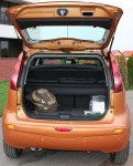 Nissan Note boot