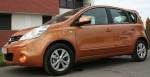Nissan Note left front
