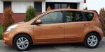 Nissan Note side view