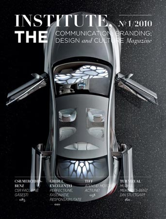 Mercedes Benz and Institute THE Magazine