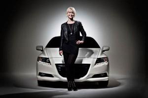 Rachel-and-Honda CR-Z car-small