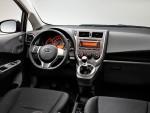 Subaru Trezia interior
