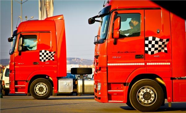 "Mercedes-Benz ""Trucks you can trust!""   Turatii"