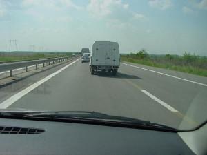 Autostrada A1 Bucuresti-Pitesti cu ciment intre sensuri