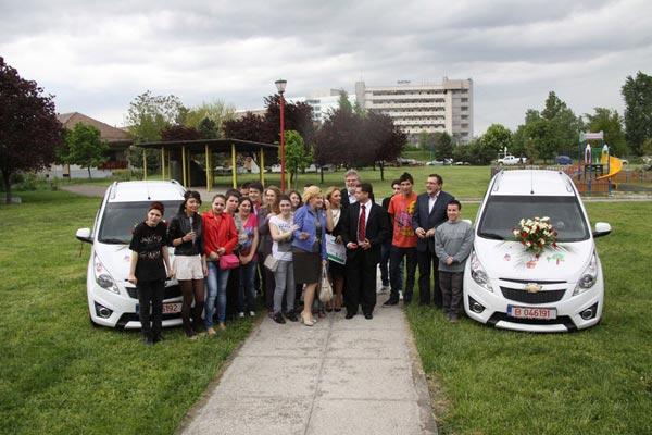Chevrolet Spark SOS Satele Copiilor Romania