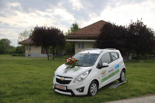 Chevrolet Spark SOS Satele Copiilor Romania