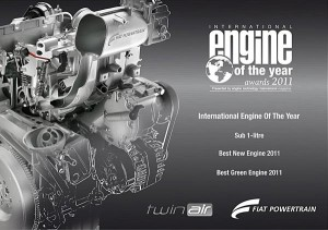Fiat Twin-Air Engine of the year 2011