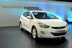 Hyundai Elantra Barcelona-motorshow 2011