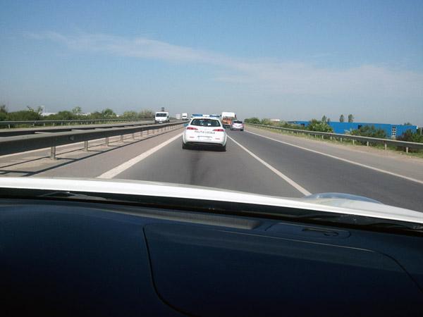 Politia Locala sector 2 Alfa Romeo 156 break