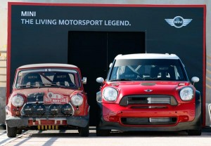 Mini Cooper S and Mini John Cooper Works WRC