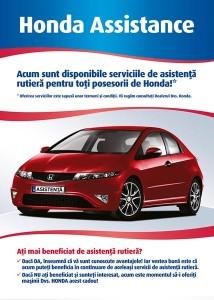 Honda Asistenta Rutiera