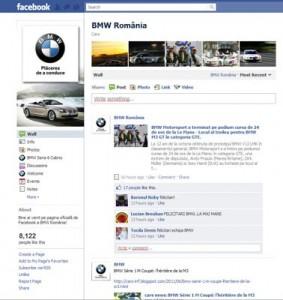 BMW Romania Facebook