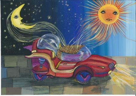 Castigator Toyota Dream Car Art Contest from Romania