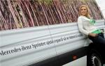 Copacul de Hartie si Iulia Vantur Mercedes-Benz Sprinter