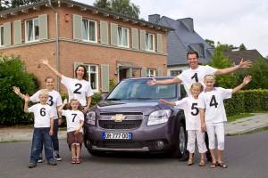 Chevrolet Orlando accomodate a big family