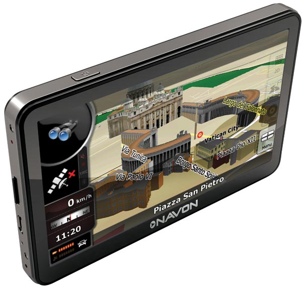 Navon N670 iGO 8 Falcon Electronics