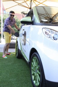 Smiley and electric smart