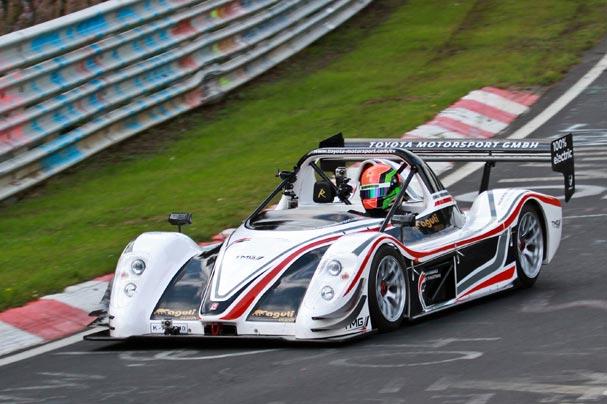 TMG-009 record Toyota Nurburgring