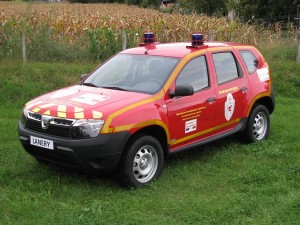 Dacia Duster Firefighters