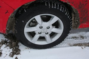 Mazda-2-winter-tires