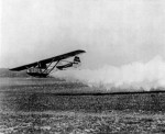Fritz von Opel flying