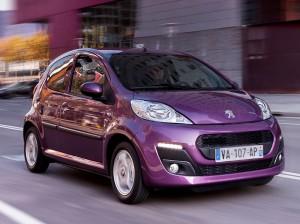 Peugeot 107 2012