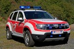 Dacia Duster pompieri