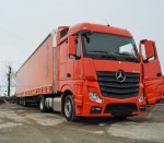 Mercedes-Benz Actros fleet Cartrans Preda
