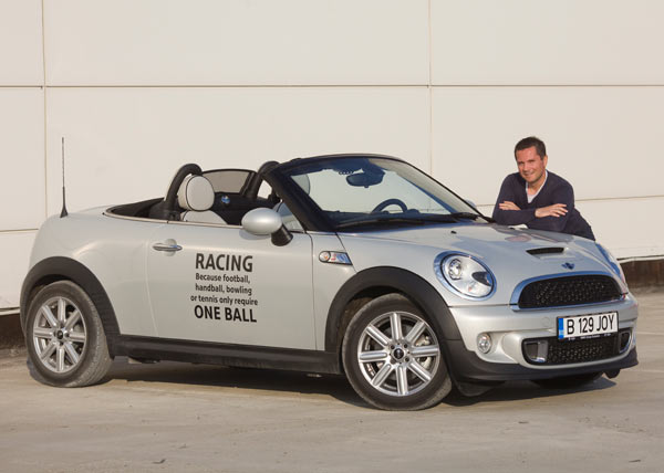 MINI Roadster and Claudiu David