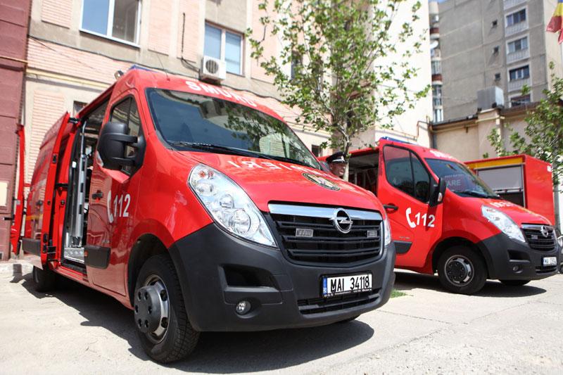 Opel Movano in dotarea Inspectoratului pentru Situatii de Urgenta