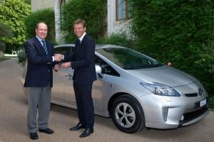 Prius Plug-in Hybrid a fost livrat catre A.S.S Printul Albert II de Monaco