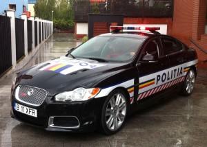 Jaguar XFR Romanian Police