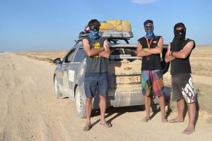 Chevrolet Aveo-FIRST-Mongol-Rally-Team