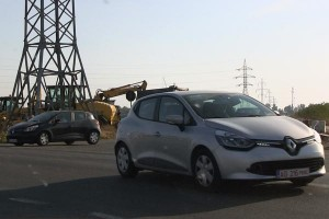 Renault-Clio-2013 around Titu Technical Center Romania