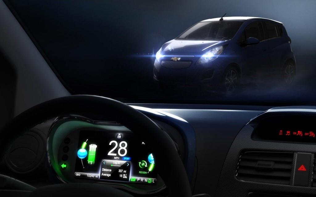 Chevrolet Spark EV Siri