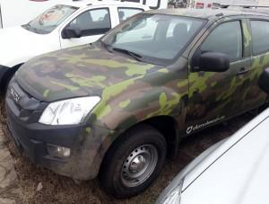 Isuzu D-Max 2012 2,5l D Classic Camouflage