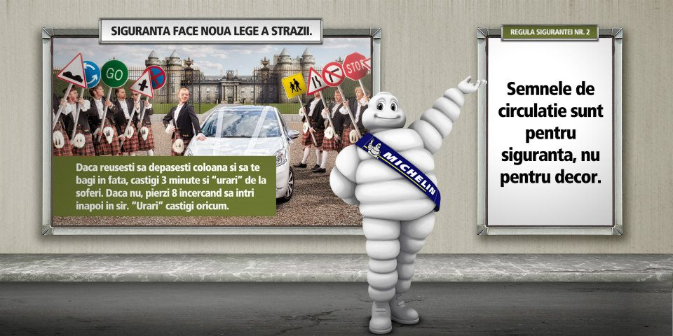 Michelin - Siguranta face noua lege a strazii