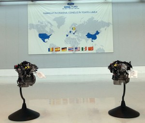 Engines built at Ford Craiova plant