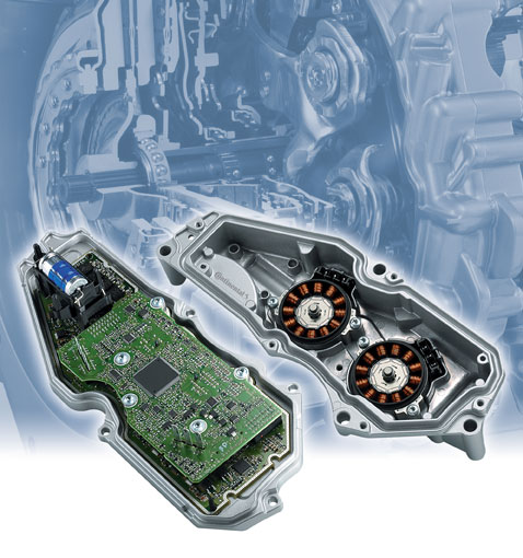 Continental-DCT-double-clutch-transmission-control-unit