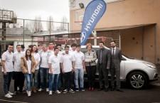 Hyundai ix35 la Colegiul Tehnic Mecanic Grivita 1
