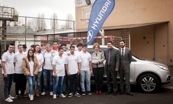 Hyundai ix35 oferit Colegiului Tehnic Mecanic Grivita