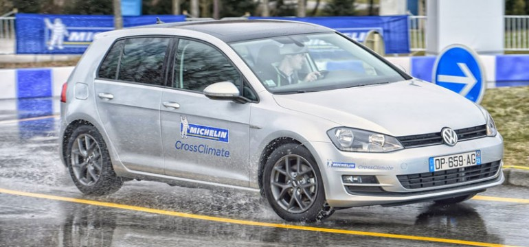 Noua anvelopă MICHELIN CrossClimate