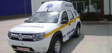 Dacia Duster Ambulanta
