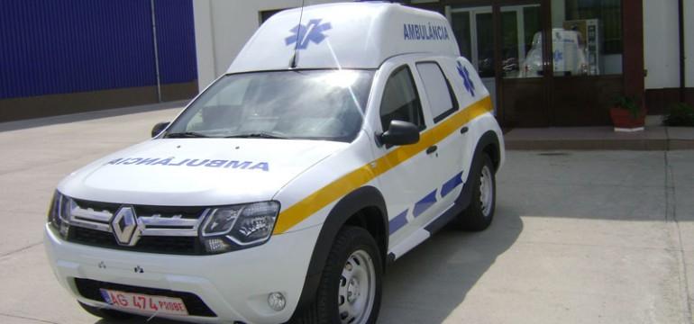 Dacia Duster Ambulanţă