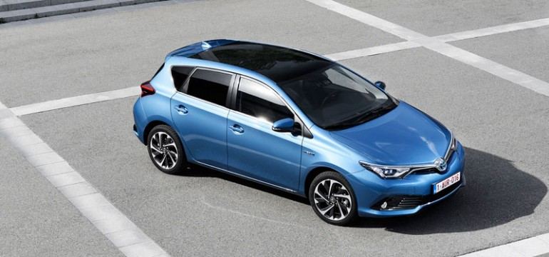 Toyota Auris 2015 – prim contact