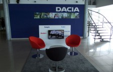 Standard showroom Dacia