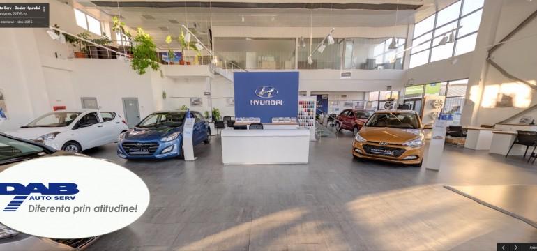 DAB Auto Serv are primul showroom din tara cu tur Google