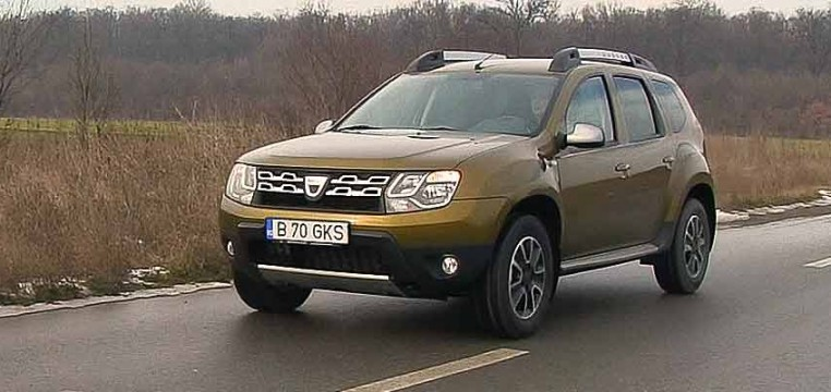 Dacia Duster 1.5l dCi SL Orange
